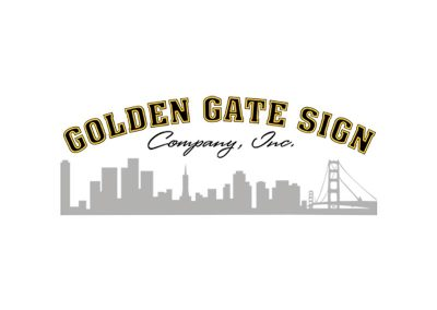 Golden Gate Sign